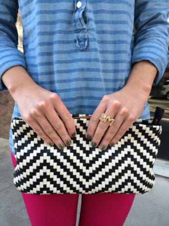 Ring: , Clutch , Nails: