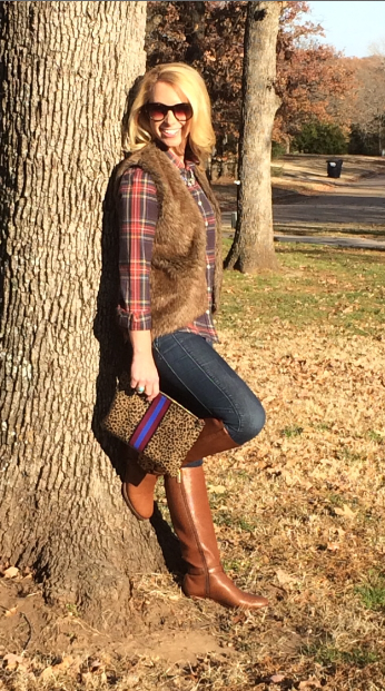 Top: J.Crew, Vest: Stella Rae's, Jeans: asldkj, Boots: Tory Burch, Bag: C.Wonder, Necklace: Zara, Rings: C.Wonder, David Yurman, Sunglasses: Elizabeth and James